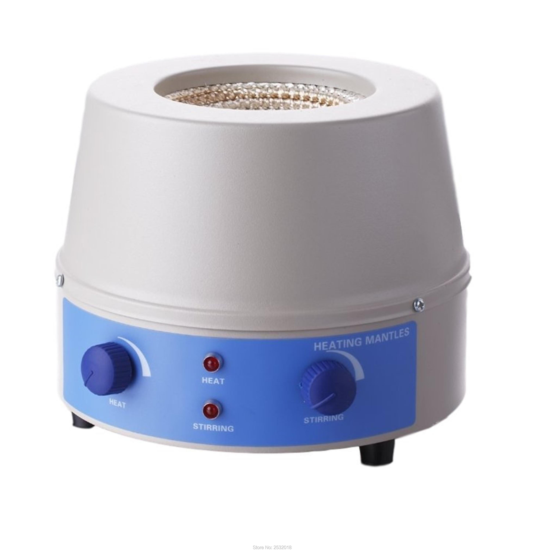 98-II-B-1000ml Laboratory  Magnetic Stirrer Heating Mantle, 0~1400rpm, 350W, Max 450 degree! 1000ml heating mantle with magnetic stirrer 110v 60hz or 220v 50hz