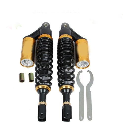 12.5 320mm Universal Shock Absorbers for Honda Yamaha Suzuki Kawasaki Dirt bikes Gokart ATV Motorcycles and Quad.