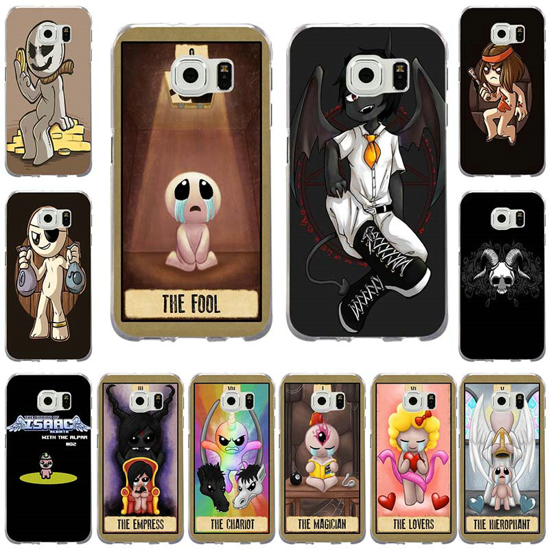 85fb49ebd46b72 Deadly Sins The Binding Of Isaac Soft TPU Phone Cases for Samsung Galaxy S2  S3 S4 S5 Mini S6 S7 S8 S9 Edge Plus Note 2 3 4 5 8