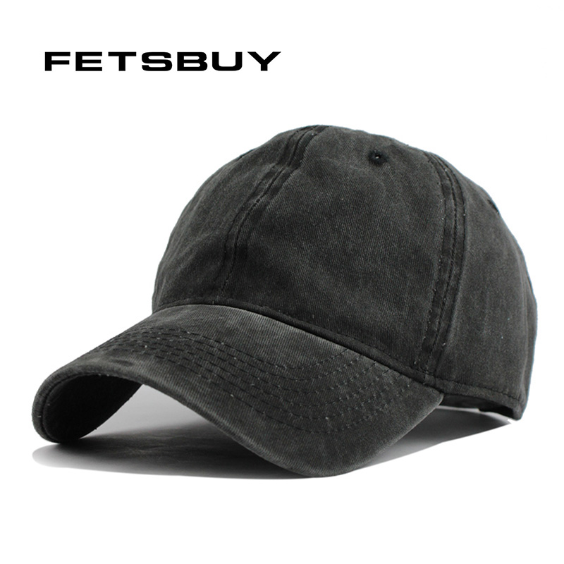 FETSBUY New Arrivals Cotton Solid color Baseball Cap Vintage Casual Hat Snapback Adjuatable Baseball Caps Brand New For Adult sute arrivals warm winter baseball cap men brand snapback solid bone baseball mens winter hats casual hat adjuatable brand