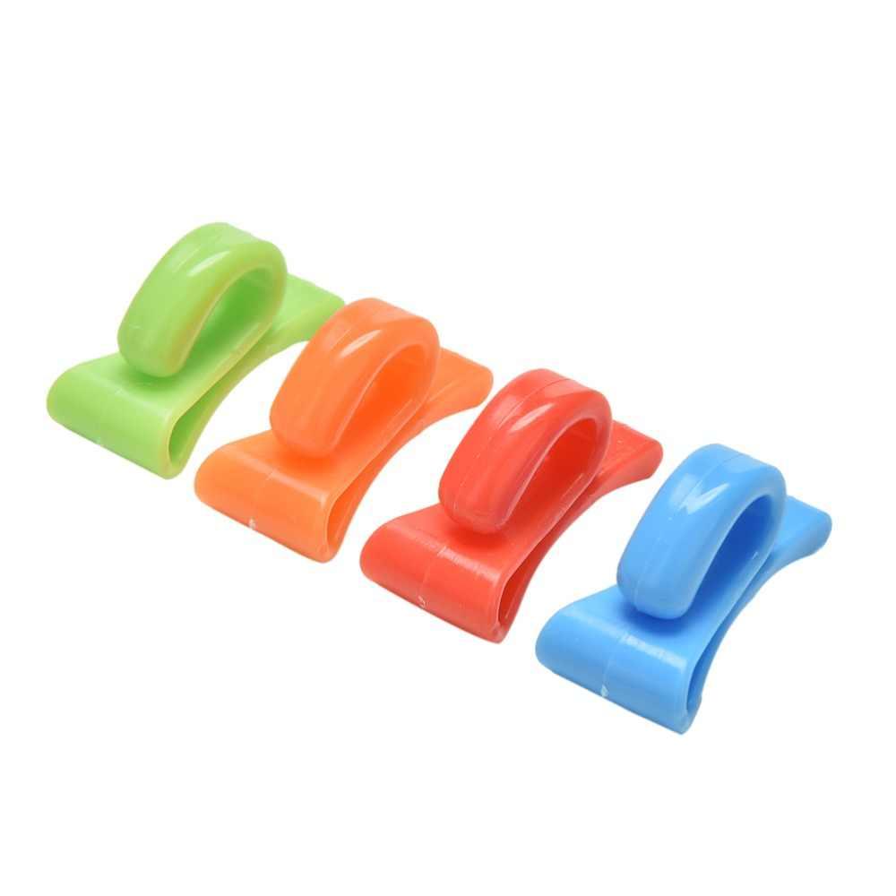2 cái Đầy Màu Sắc Mini Được Xây Dựng Trong Túi Clip Phòng Chống Lost Key Hook Chủ Lưu Trữ Clip Cho Nhiều Loại Túi Bên Trong