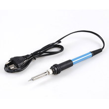 Mini Soldering iron 60W 110V 220V Adjustable Temperature Electric Solder Sucker With Stands US EU UK Plug