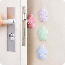 vanzlife Paste the style door after anti-collision pad door handle silence thickened protective pad shock