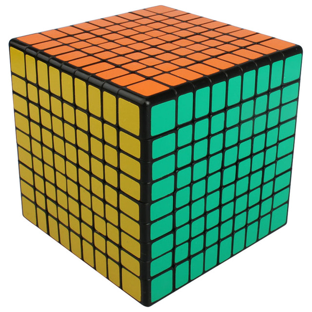 2016 Caliente Nueva Shengshou 9x9x9 Velocidad Cubo Mágico Rompecabezas Profesional Cubo Mágico Juguetes Clásicos de Aprendizaje Educación juguete para Los Niños-50
