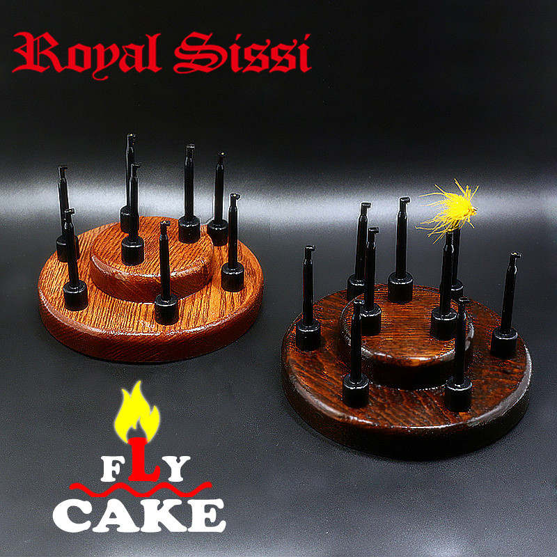 Royal Sissi 1 Set Fly Cake Furniture Fly Tying Wood Handy -2727
