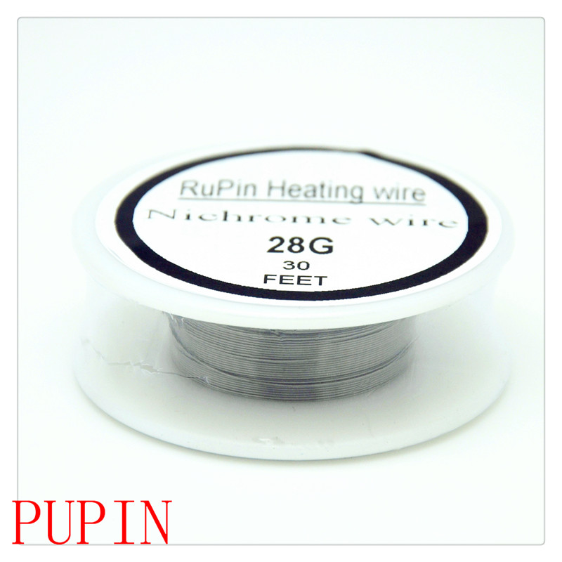 RuPin Heating Wrie Nichrome wire 28Gauge 30 FT 0.32mm Resistance ...