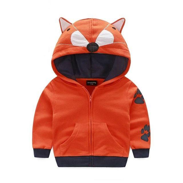 Nuevos abrigos y chaquetas de los hoodies de los niños chaquetas abrigos niñas abrigo de vestir exteriores de Los Niños de dibujos animados