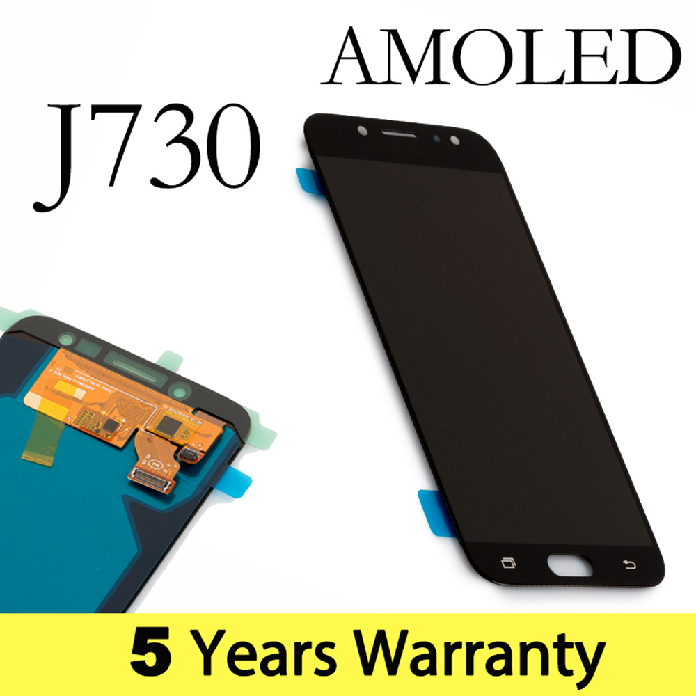 Display AMOLED Fábrica J7 Pro Para Samsung Tela de 2017 Lcd J730F 5.5 Polegada J7 J7 Pro Lcd Para Samsung J7 2017 Exibição