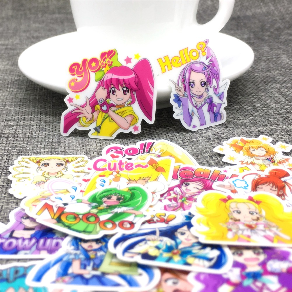 40 Pcs Anime Boy And Girl Stickers Scrapbooking  Decoration DIY Toy PhoneAblum Diary Label Sticker Kawaii Stationery