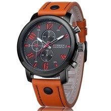 Luxury Casual Men Watches Analog Military Sports Watch Quartz Male Wristwatches Relogio Masculino Montre Homme CURREN 8192