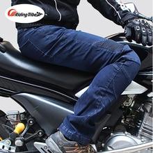 где купить New Motorcycle Pants Men Moto Jeans Riding Touring Protective Gear Motorbike Trousers Motocross Pants Pantalon Moto Pants HP-03 по лучшей цене