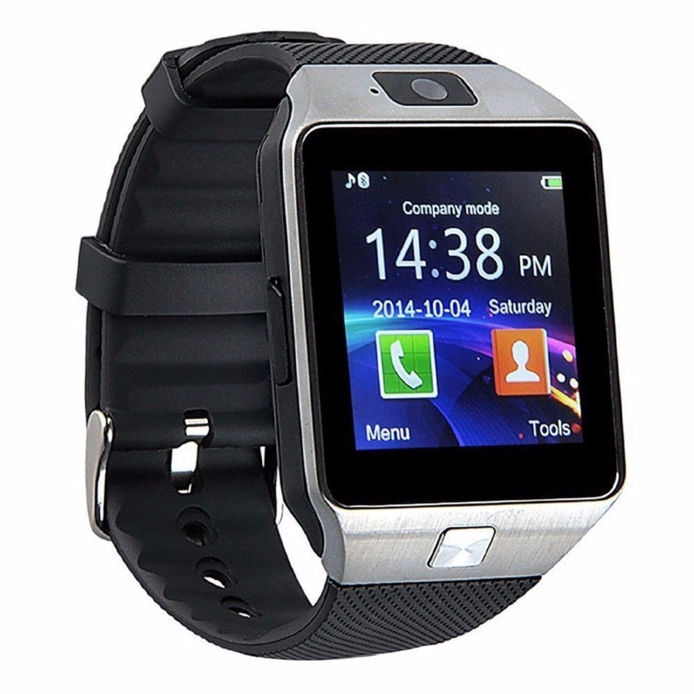 ZAOYIMALL Original DZ09 Bluetooth mens smart watch support SIM/TF Card Wearable Devices For ios xiaomi Android Phones pk gt08