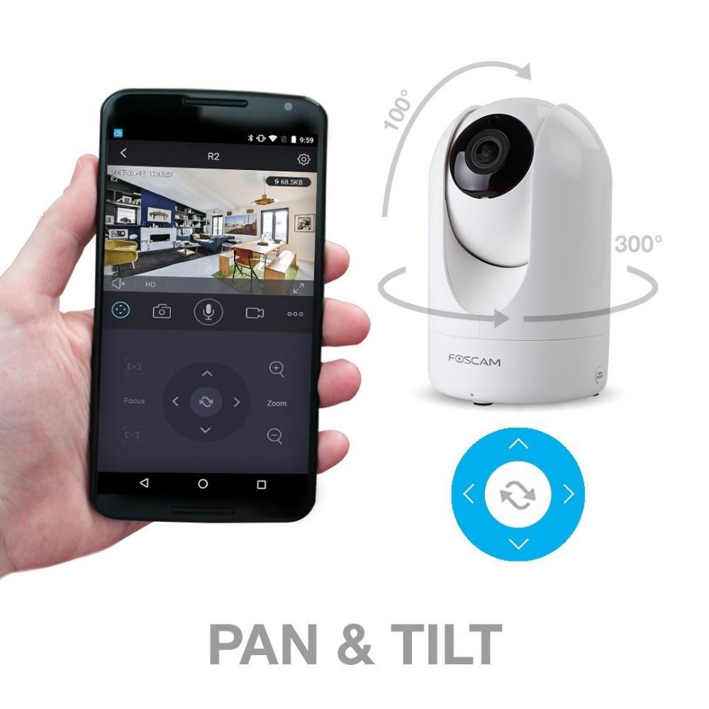 Foscam R2 1080P 2,0 MP FHD bezdrátová P2P IP kamera s 26 stopami - Zabezpečení a ochrana - Fotografie 5
