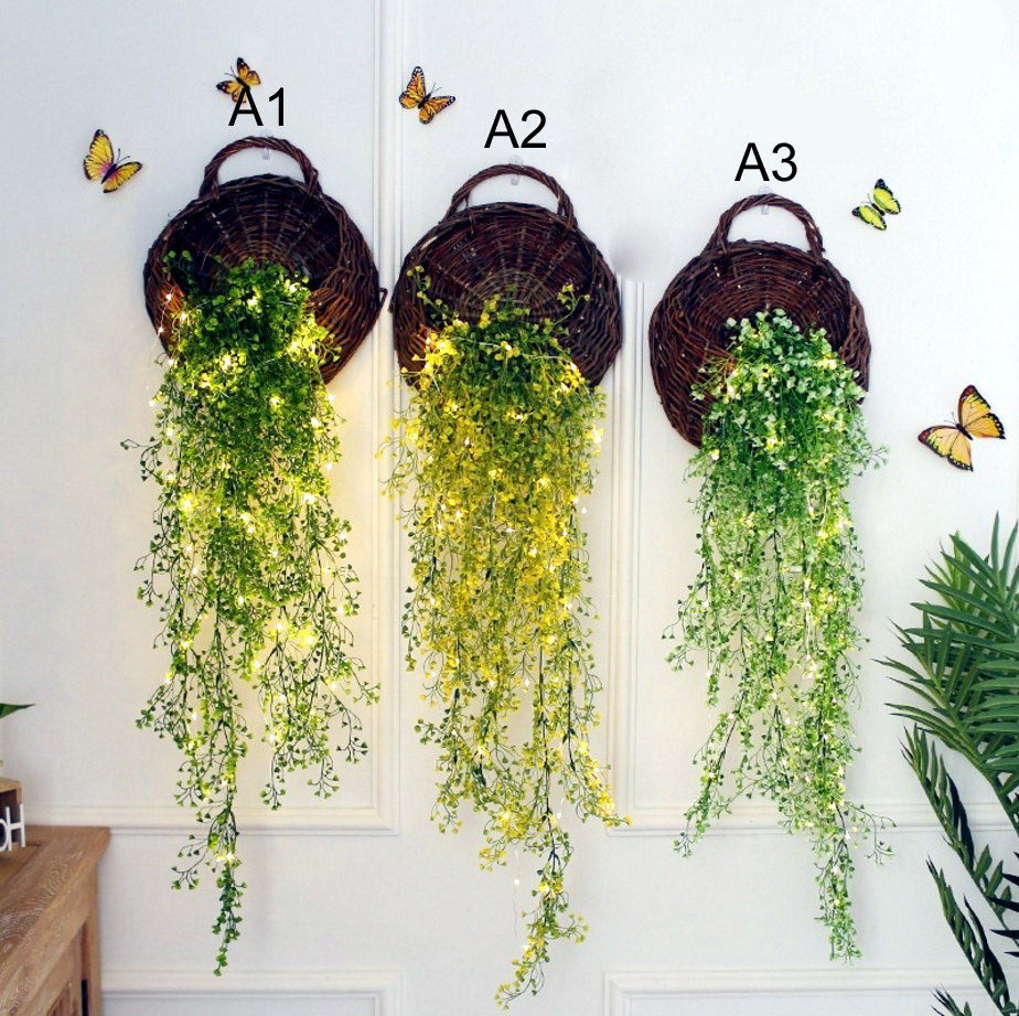 Admiralty flower LED Wall basket flowers simulation plant wall ...