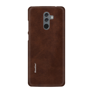 Image 2 - חם למכור מקרה יוקרה בציר עור מפוצל מקרה עבור Elephone U פרו טלפון מקרה עבור Leagoo M9 עסקי סגנון כיסוי