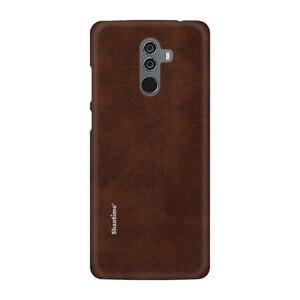 Image 2 - Sıcak satış durumda lüks Vintage PU deri kılıfı için Elephone U Pro telefon kılıfı Leagoo M9 iş tarzı kapak