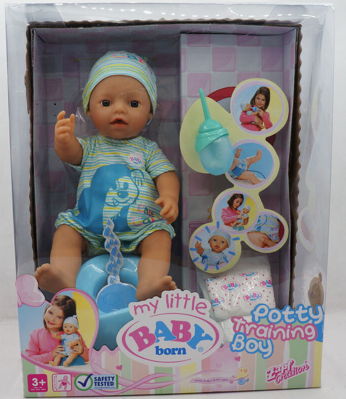 Hsb Toys Zapf Creation Baby Potty Traning Laugh Cry
