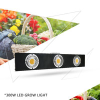 CREE CXB3590 300W COB LED Grow Light Full Spectrum LED Lamp 38000LM = HPS 600W Growing Lamp Indoor Plant Growth Panel Lighting