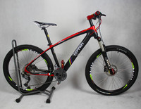 26 Inch Wheel Diameter 27 Speed Carbon Fiber Mountain Bike Ultra Light Mountain Bike