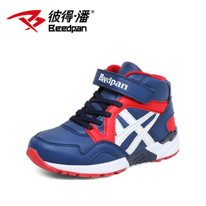 Beedpan 2017 autumn winter Anti-slip deodorant boy girls shoes student running shoes children's sports basketball shoes image
