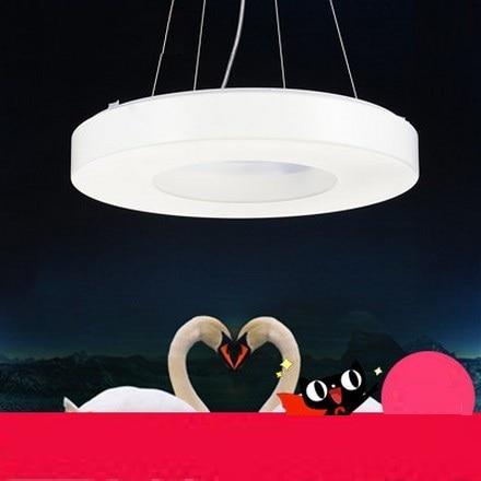 ᗑSimple Fashion Creative Round Acrylic Droplight Modern LED Pendant Unique Light Fixture For Dining Room Creative