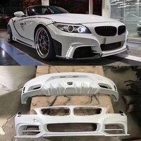 E89 Z4 Car body kit FRP Unpainted front bumper rear bumper for BMW E89 Z4 ROWEN body kit 09 14