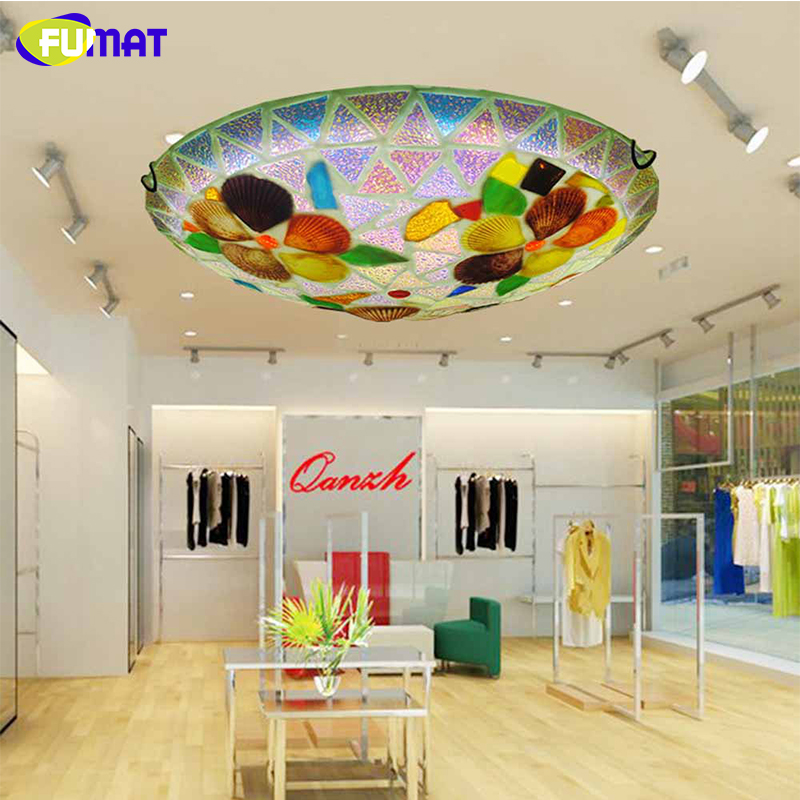 FUMAT Bedroom Ceiling Lamp Round Aisle Lamp Living Room Ceiling LED Light Lustre Balcony Light Corridor Lamp for Restaurant light colorful ceiling lights restaurant creative children s room bedroom balcony corridor lamp shell ceiling lamp za