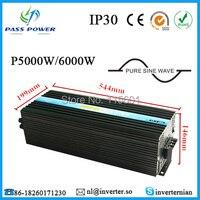 One Year Warranty, 5000w Soft Start Customizable Solar Inverter for Motor Home