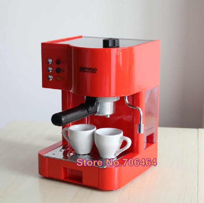 Semi Automatic Espresso Coffee Maker 15 Bar Cappuccino