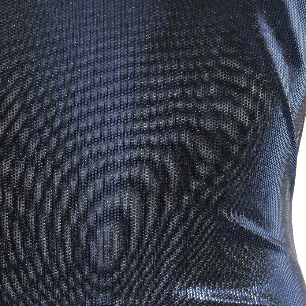 5de5364de9 2019 Plus Size Off Shoulder Bandage Wrap Hologram Laser Sequined ...