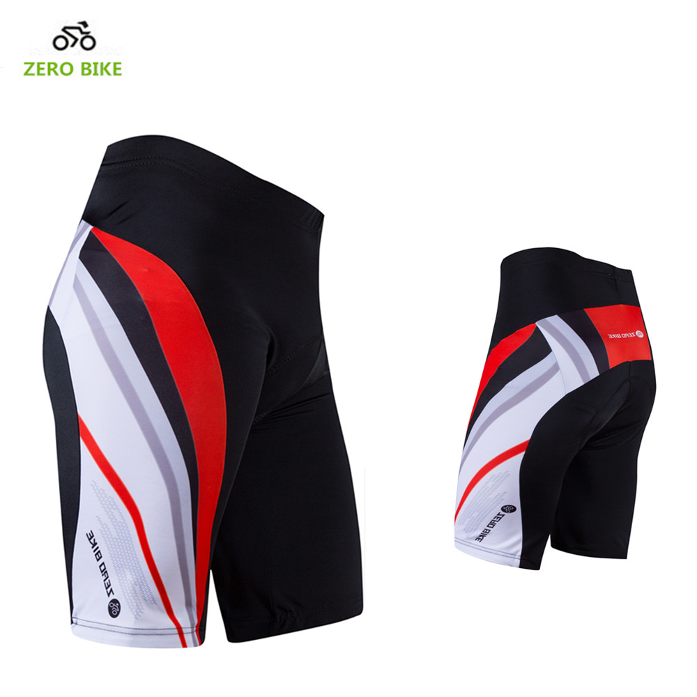 ZERO BIKE High Quality Men Summer Cycling Shorts Breathable Gel 3D Padded MTB Bicycle Short Pants M-XXL