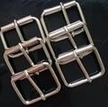 Мешок пряжки железа ролика пряжкой серебрение внутренний размер 41 мм/34 мм пряжки одежды для пальто пряжки