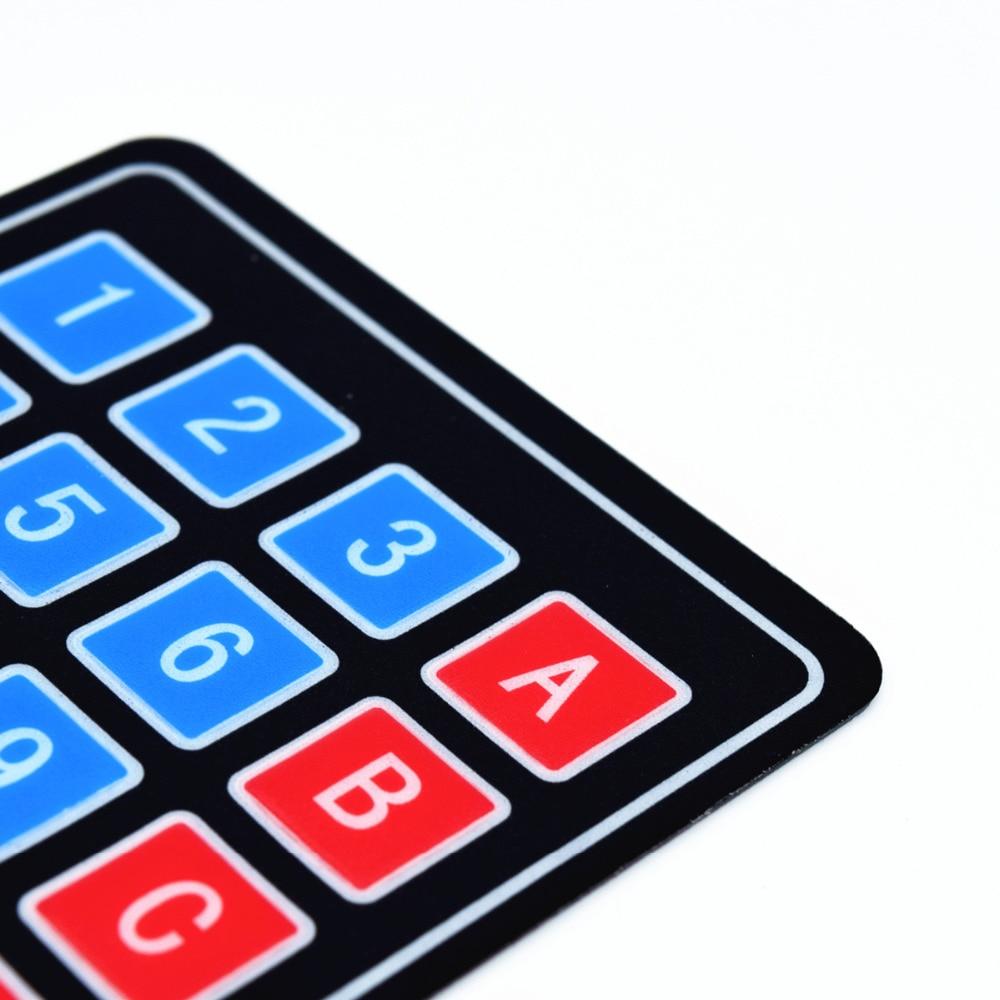 Adeept Uusi Adeept 16 Key Membrane Switch Keypad Näppäimistö 4 x 4 - Smart electronics - Valokuva 4