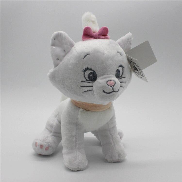 1piece 25cm The Cat Marie Cat plush toy Marie Cat Animals Stuffed Soft kids doll