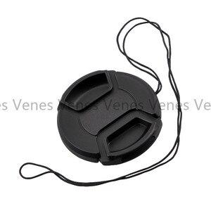 Image 4 - VENES 50 pçs/lote lens cap com 49mm, Nenhuma palavra com pitada oriente capa 49mm, centro Pitada Lens Cap