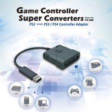 USB Game Controller Super Converters Adapter for PS2 to for PS3 for PS4/PC Joystick Game for Logitech Wired Controller(China)