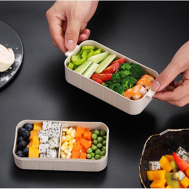 Plastic Leak Proof Lunch Box for Food