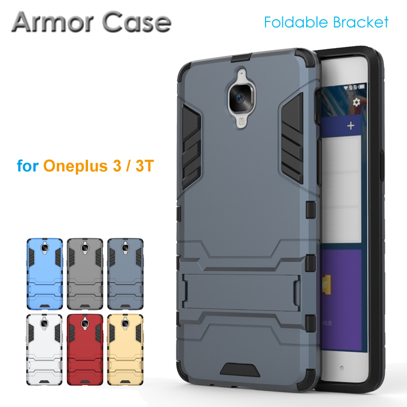 brand new 3cbb7 c22ee US $3.18 |Rosefy 2 in 1 Rugged Armor Case for Oneplus 3 3T Tough Shockproof  Shield Armour Case for Oneplus 3T 3 with Bracket Kickstand-in Fitted Cases  ...
