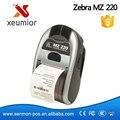 Первоначально Новая Для Zebra MZ 220 Мобильный Термопринтер Этикеток Мини портативный Bluetooth Принтер Этикеток Со Просвет Цена