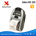 Original New For Zebra MZ 220 Mobile Thermal Label Printer Mini portable Bluetooth Label Printer Stock Clearance Price