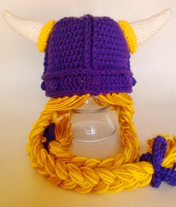 toddler viking hat personalized baby viking beanie hat.Infant photo prop girls viking hat, halloween hat Christmas Gift NB-adult
