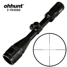 ohhunt 3-9X40 AO 1 Inch Tube Hunitng Riflescope Mil Dot Wire Reticle Tactical Optical Sights for Sni