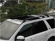 JIOYNG Car Aluminum OEM Style Roof Rack Baggage Luggage Bar For Land Rover  Freelander 2 LR2 2006 2017 FAST BY EMS