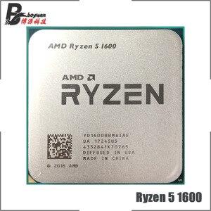 Image 1 - Amd ryzen 5 1600 r5 1600 3.2 ghz 6 코어 12 스레드 65 w cpu 프로세서 yd1600bbm6iae 소켓 am4