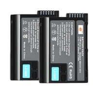 DSTE 2 pièces EN-EL15 en-el15 Batterie pour Appareil Photo Nikon D500 D7000 D7100 D800 D800E D600 D610 D810 D7200 D7500 V1 D850 Z6 Z7