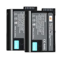 DSTE 2PCS EN-EL15 en-el15 Camera Battery for Nikon D500 D7000 D7100 D800 D800E D600 D610 D810 D7200 D7500 V1 D850 Z6 Z7