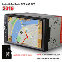 2019 latest map app offline 16G gps maps Micro sd card for android