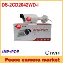 Оригинал Hikvision 4 мм Ip-камера Международный Английский Версия 4MP DS-2CD2042WD-I CCTV Камеры Обновление