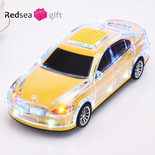 JKR Беспроводной Bluetooth Динамик модель автомобиля Дизайн стерео HiFi Поддержка мини автомобиля fm Радио TF карты Портативный Колонки для телефона