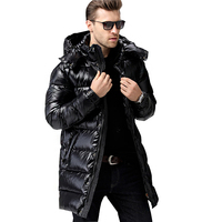 Famous Design Luxury Down Jacket Men Winer Down Jacket 90% White Duck Parka Warm Jacket Windproof Jackets For 30 Degrees C12ABC